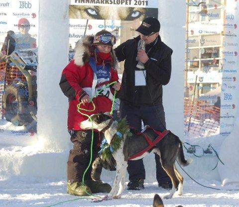 Edland vant Finnmarksløpet i 2011. Foto: Anne Karang