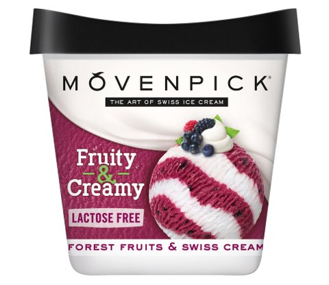 Mövenpick Forest Fruits er laktosefri.