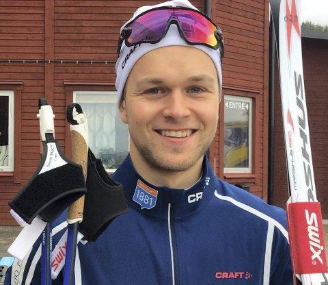 SATSER: Leif Torbjørn Næsvold fikk to 20 plasser i helgens renn i Klingenthal