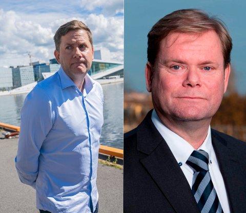 UENIGHET: Driftsdirektør Bent Martini hevder Daniel Skjeldam ba ham sørge for å unngå at Hurtigruten ble omtalt i en pressemelding om smitte i Hadsel. Skjeldam nekter for at dette har skjedd.