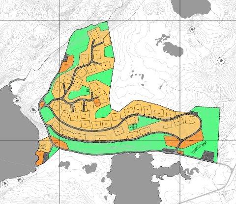 FINNÅSEN: Kommunal- og moderniseringsdepartementet endrer reguleringsplanen for Finnåsen hytteområde ved Grønningen i Markabygda ved at antallet hyttetomter begrenses fra 40 til 20.