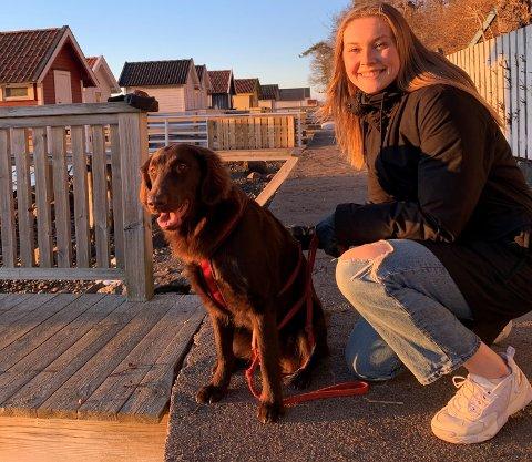 Margit Lidal flyttet fra Nesodden til Ålgård i fjor. Nå har hun bestemt seg for å bli værende i Gjesdal ett år til.
