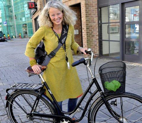 På'n igjen: Miljøvernerådgiver Anne Skauen inviterer til et nytt «sykkelloppis» torsdag 29. september. Arkivfoto: Trond Thorvaldsen