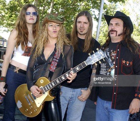 FRA SØR-STATENE: Gruppa Nashville Pussy spiller hardrock og «kupunk» i Milepelen, i regi av Odal Rockeklubb.