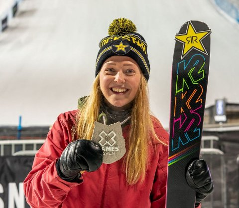Johanne Killi fra Dombås tok sølv i X-Games.