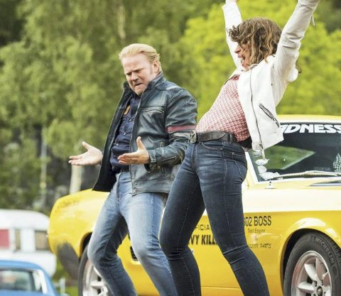 Overlegen: Anders Baasmo har høy stjerne på hjemmebane og Børning 3 solgte 8150 billetter på Hamar kino, nesten dobbelt så mange som den neste på lista. FOTO:  SF STUDIOS