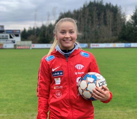 Anna Jøsendal har slitt med skader i vinter og i vår. Odda-jenta stod over sesongåpningen mot VIF. Om noen uker regner hun med å være tilbake for fullt.
