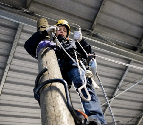 LÆRLINGER: Behovet for faglært arbeidskraft vil øke fremover, skriver Hallvard Ween, prosjektleder Læreplass 2017.  Arkivfoto: Terje Størksen