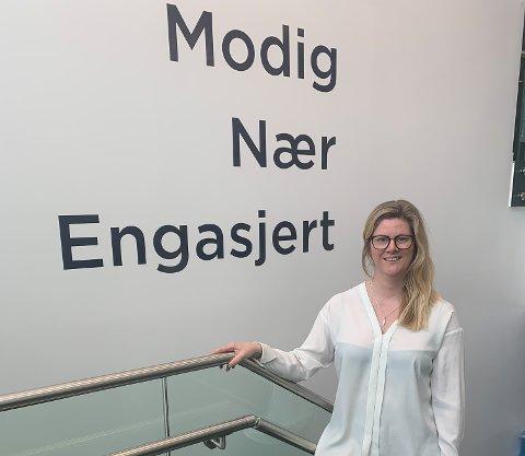 Ny jobb: Inger Johanne Gjelseth begynte i ny jobb rett over påske.