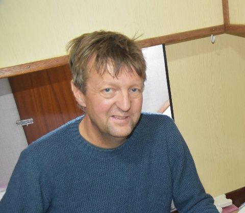 FISKEBRUK: Karl Viktor Solhaug står bak selskapet Karl Viktor Fisk AS som skal drive fiskemottak i Henningsvær.