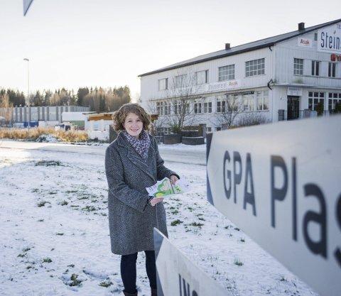 Fornøyd: Ordfører Tuva Moflag gleder seg over Sanners vedtak vedrørende Ski Øst.foto: Eirik Løkkemoen Bjerklund