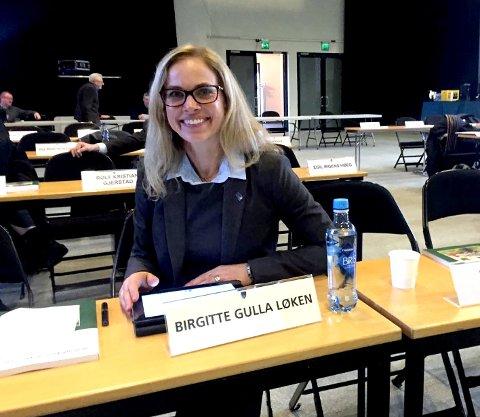 ERFAREN: Birgitte Gulla Løken er vant til å gi og ta imot i debatter. Nå er det stort trykk på Høyre-politikeren.