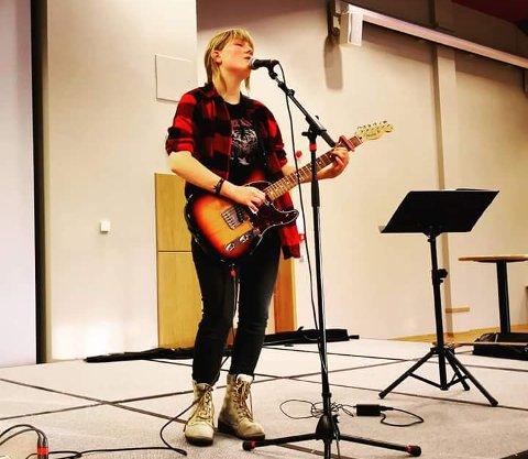 ORIGINAL SANG: Sigrid som har deltatt før skal i år spille en egenkomponert sang.