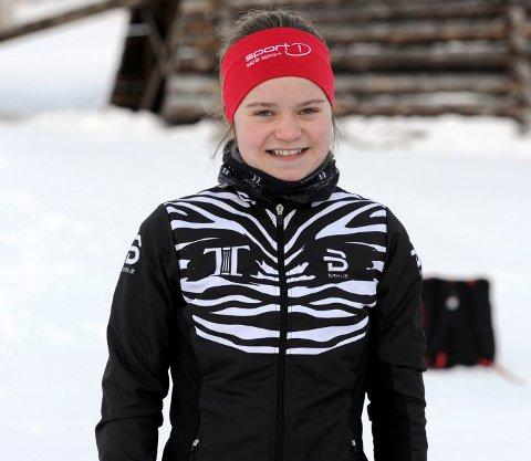 GOD AVSLUTNING: Vera Flatland gikk en god stafettetappe og satte et verdig punktum for juniornorgesmesterskapet på Savalen.