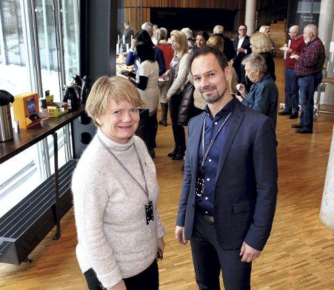 OFFENSIV SATSING: Ordfører Ragnhild Bergheim (Ap) og rådmann Ragnar Christoffersen.
