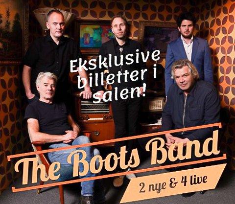 Boots Band: The Boots Band nå - sånn bandet og frontmann Oddbjørn Holla ønsker å framstå i 2020 på den nye EP'en sin.