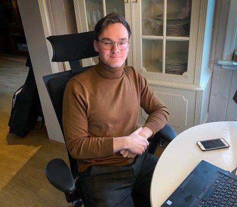 NY: Øystein Lona Svendsen er ny dagleg leiar i Lys Bemanning AS, som er registrert i Gloppen.