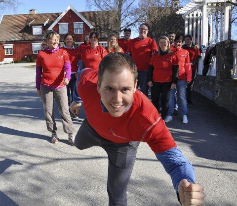 HARE: Øyvind Bjølverud løper for ny pers i Viggaløpet.