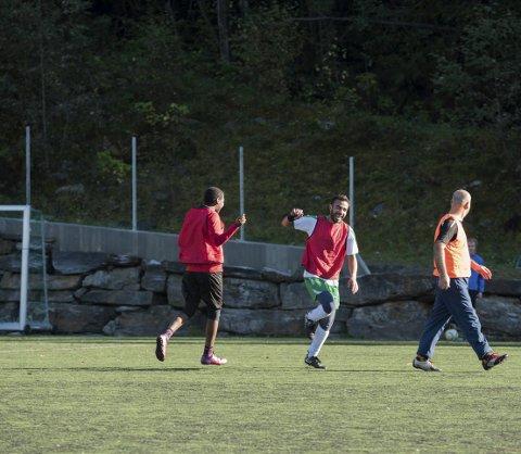 Hordatun: IL Harding har fått 500.000 kroner til oppgradering av fotballbanen på Lofthus med kunstgras og ljosmaster.  Arkivfoto