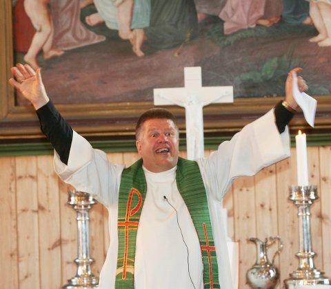 Gleder seg: Kapellan Magne Løvlien gleder seg til påskehøytiden, og håper så mange som mulig finner veien til gudstjenestene.