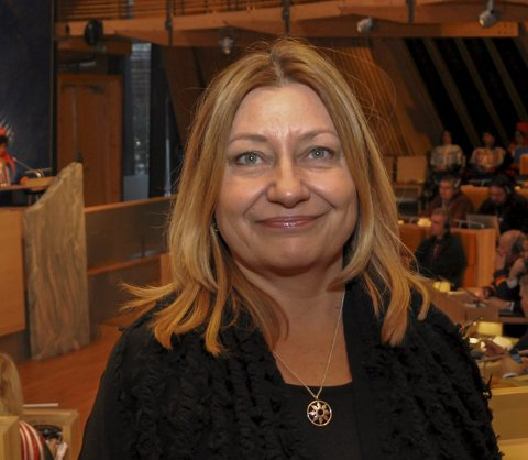 Statssekretær Anne Karin Olli.
