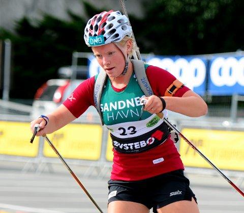 SATSER: Ragnhild Femsteinevik satser selv om hun ble veid og funnet for lett på rekruttlandslaget. Hun har ambisjoner om å ta nye steg i fortsettelsen.