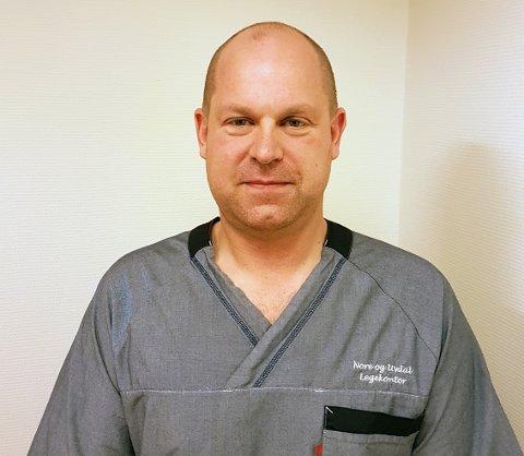 LEDER: Stefan Olsson er seksjonsleder for Nore og Uvdal legekontor.