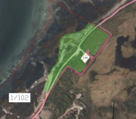 Masseuttak: Rasmussen Anlegg AS søker driftskonsesjon for Tussan i Vestvågøy kommune. Omsøkt område utgjør et areal på 16 dekar.