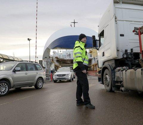 Ned: I 2016 har trafikken med Bastøferjene gått litt ned. Færre reisende til Nordby kan være årsaken til nedgangen. Alle foto: Terje holm