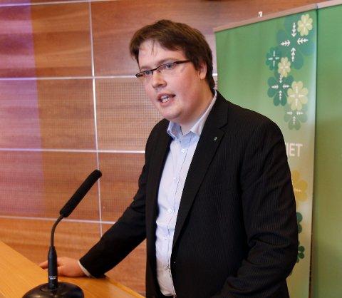 Lettet: Morten Vollset (SP) fikk drahjelp av SV, MDG, FrP og Ap til å si nei til avtalen om en ny storregion, slik den foreligger.