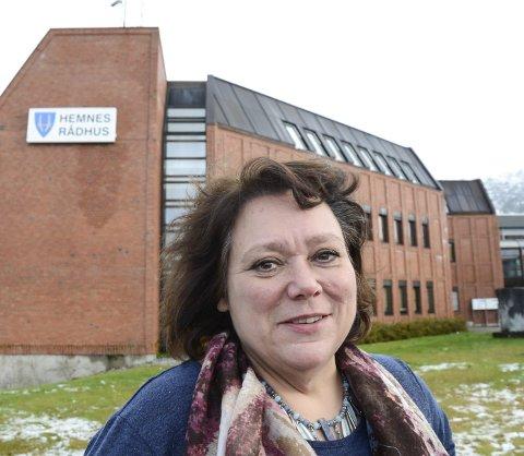 KAMP: Ordfører Christine Trones mener det er feil at regjeringen tar kraftinntekter fra kommunene. Foto: Arne Forbord