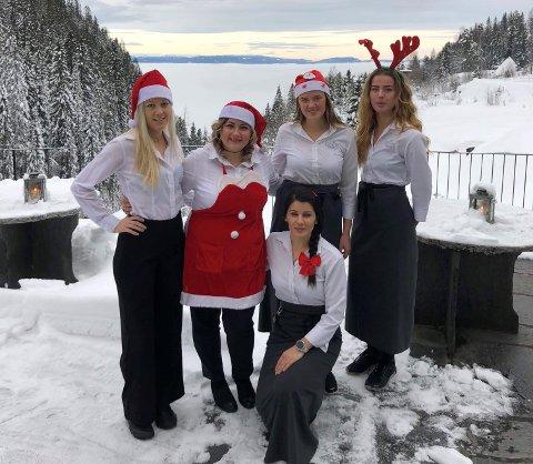 JUL: De ansatte på Kleivstua arrangerte julemarked på Kleivstua i helgen.