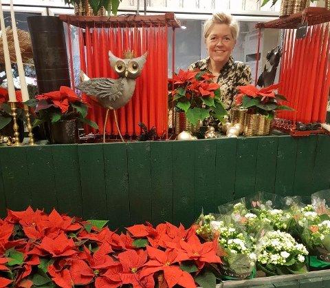 POSITIV: For Linda Kristjansson ble 2020 et godt år for butikken.