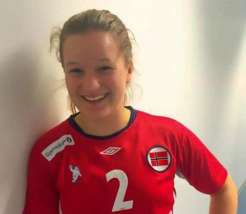 TATT UT: Nora Thulin er tatt ut på juniorlandslaget. Foto: Privat