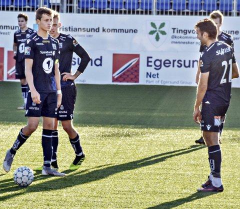 Mål og assist: Tidligere KBK-spiller Ole Sæther (til venstre) var sterkt delaktig i å senke gamleklubben da Ranheim møtte KBK på Frøya fredag.
