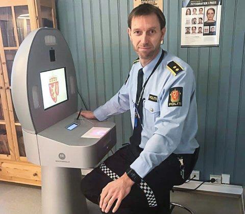 Avslnittsleder Øyvind Unsgård. Foto: Politiet Røros og Holtålen