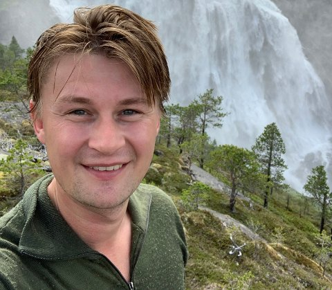 Godt fornøyd: Øystein Mathisen fra Bodø er satt opp på tredjeplassen på Nordland Aps endelige listeforslag foran stortingsvalget i 2021, og han gleder seg over det han nå hører.