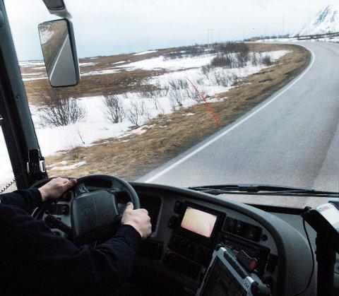 Veien er åpen igjen over Kjølhågen. Illustrasjon.