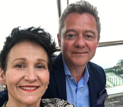 Morten Sandøy og kona Andrine