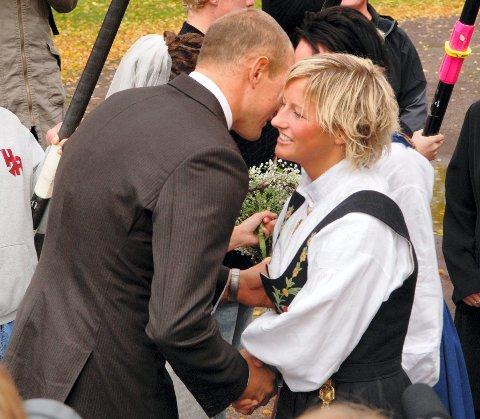 GODE VENNER: Olaf Tufte lærte Vibeke Skofterud å kjenne gjennom Olympiatoppen. De ble gode venner, og Skofterud var blant gjestene da Olaf giftet seg med Aina i 2008.
