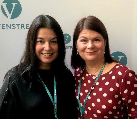Irene Dahl og Trine Noodt, Troms og Finnmark Venstre.