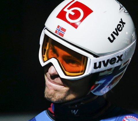 STÅR OVER: Daniel-André Tande står over rennene i Willingen.