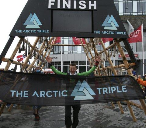 The Arctic triple: – Vårt uttalte mål er at overskuddet skal gå tilbake til barn og unge, sier Frank Hagen.FOto: arkiv