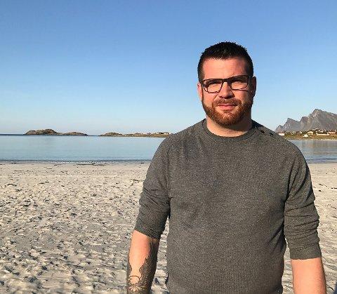 NY JOBB: Hans Fredrik Sørdal er ansatt som ny inspetør ved Bodø-skole.