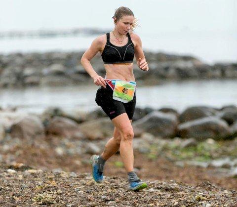 Vant: Helle Manvik har vunnet mange løp de siste årene. Her i Helsingør i Danmark der hun vant et 84 km langt løp i 2017.