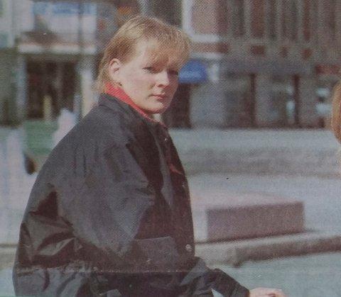 1997: Slik så Anne Sandum ut for 22 år siden.