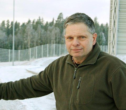 FÅ OBSERVASJONER: Kai Nikolaisen i ettersøksringen i Eidsberg har sett færre elger enn normalt i det siste.Arkivfoto