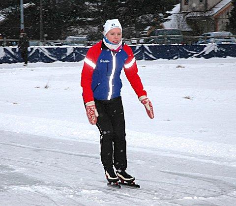 STOLT: Trener i Båstad IL, Elisabeth Lien Fjeld, er stolt over utmerkelsen.