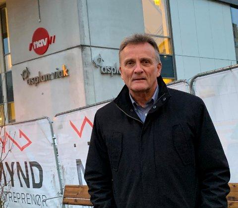 TO TING: Nav-direktør Terje Tønnessen er både bekymret over og ser positivt på den siste utviklingen.