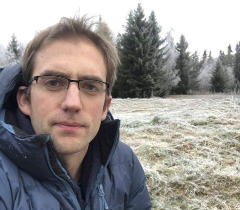 SØKER: Sigurd Aune Flatmo (34) er en av de 12 som har søkt seg til den ledige stillingen som prosjektingeniør i Valdres Energi Nett.